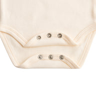Load image into Gallery viewer, Martha & Marlo Baby Long Sleeve Bodysuit Cream