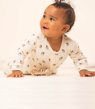 Load image into Gallery viewer, Martha & Marlo Baby One Piece Bodysuit Organic Cotton Sheep Print Cream