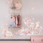 Wondrous Woodland Fabric Wall Sticker - In stock