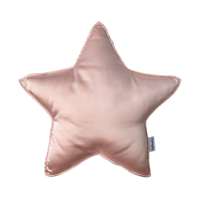 Charmeuse Star Pillow in -  LIGHT PINK - in Stock