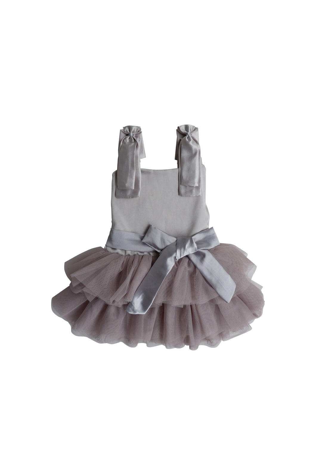 Odette Ballerina Dress - Grey - 2/3 Weeks Delivery