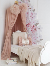 Load image into Gallery viewer, Dreamy Bow Cushion- Champagne- In stock