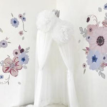 Load image into Gallery viewer, Large Sparkle Pom Garland in White - In stock