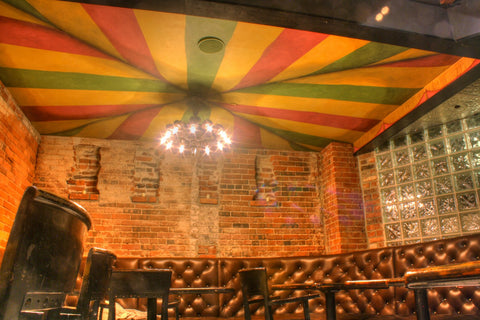 canopy tent ceiling painting