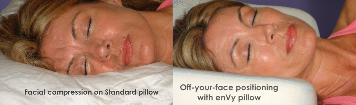 Anti wrinkle pillow