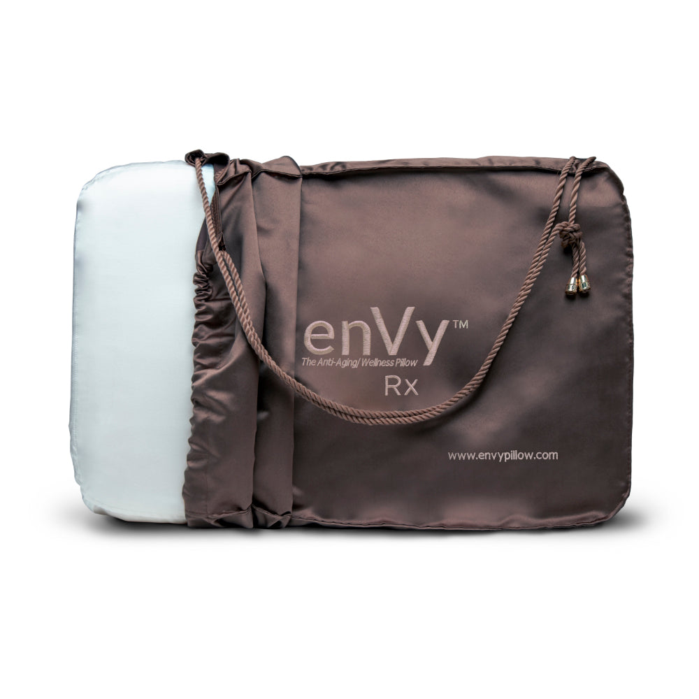 enVy Rx Anti-Wrinkle pillow with Bamboo pillowcase