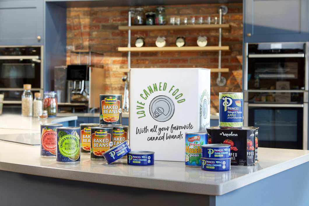 Love Canned Food Family Essentials Box