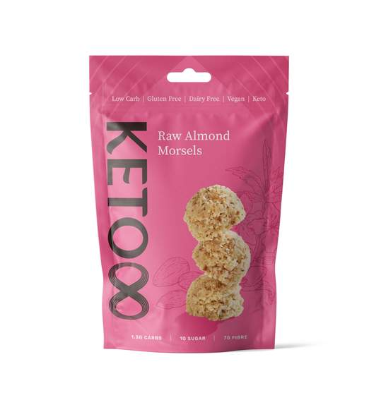 Keto Raw Almond Morsels