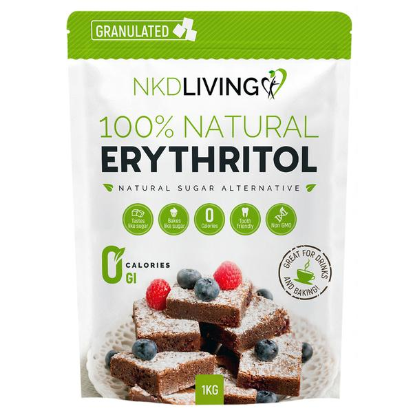 100% Natural Erythritol | ZERO Calorie Sugar Replacement