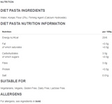 PASTA – LOW CARB (3.5g per 100g) 200G