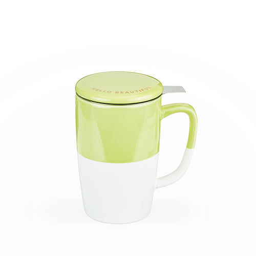 Delia™ Green Tea Mug & Infuser by Pinky Up®