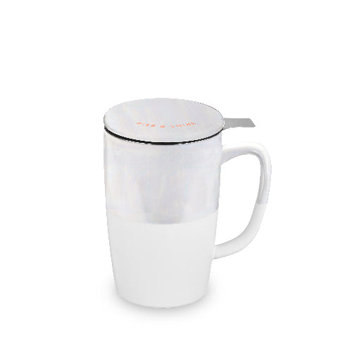 Delia™ Rise & Shine Tea Mug & Infuser Pinky Up®