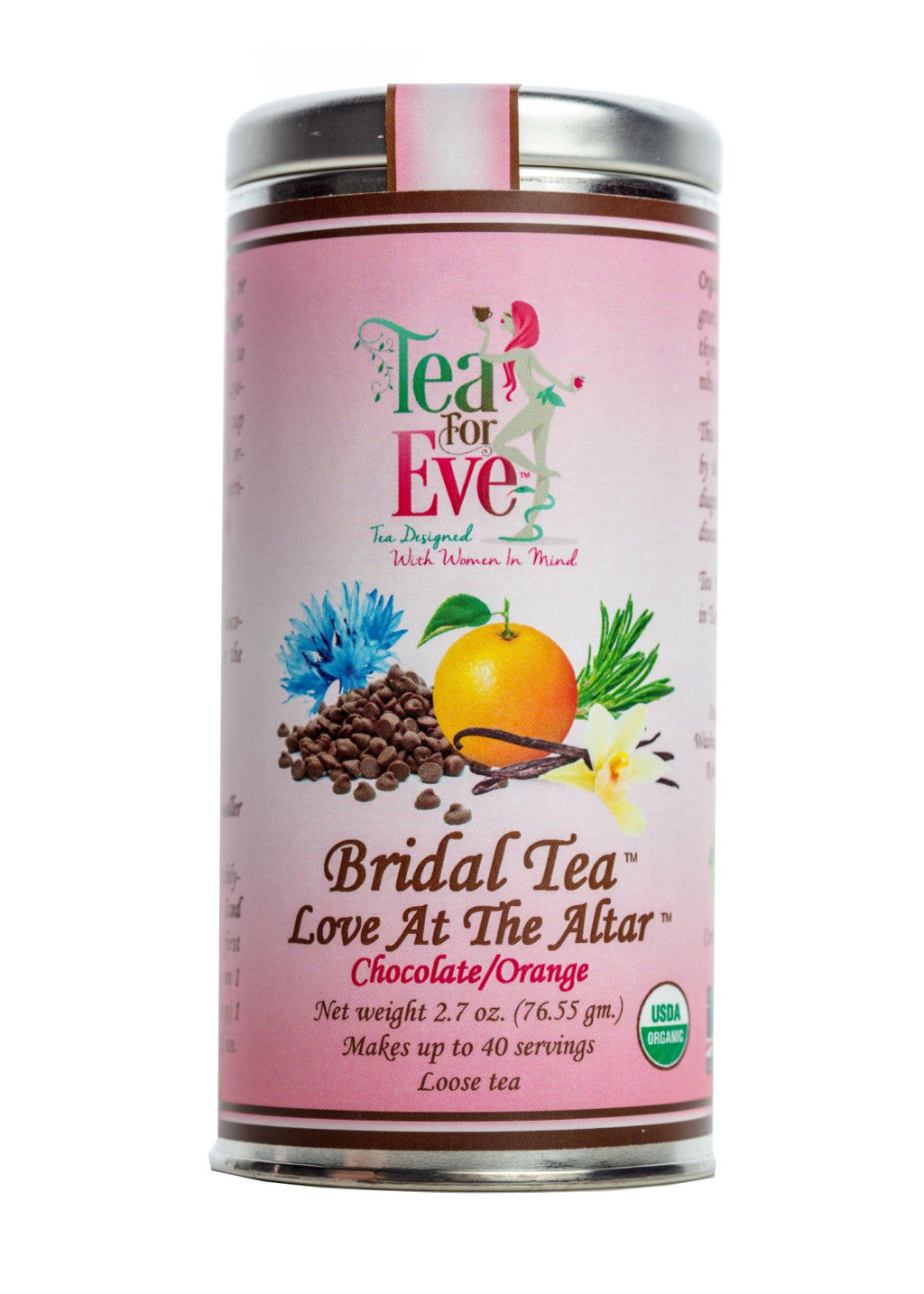 Bridal Tea-Love At The Altar-Chocolate/Orange