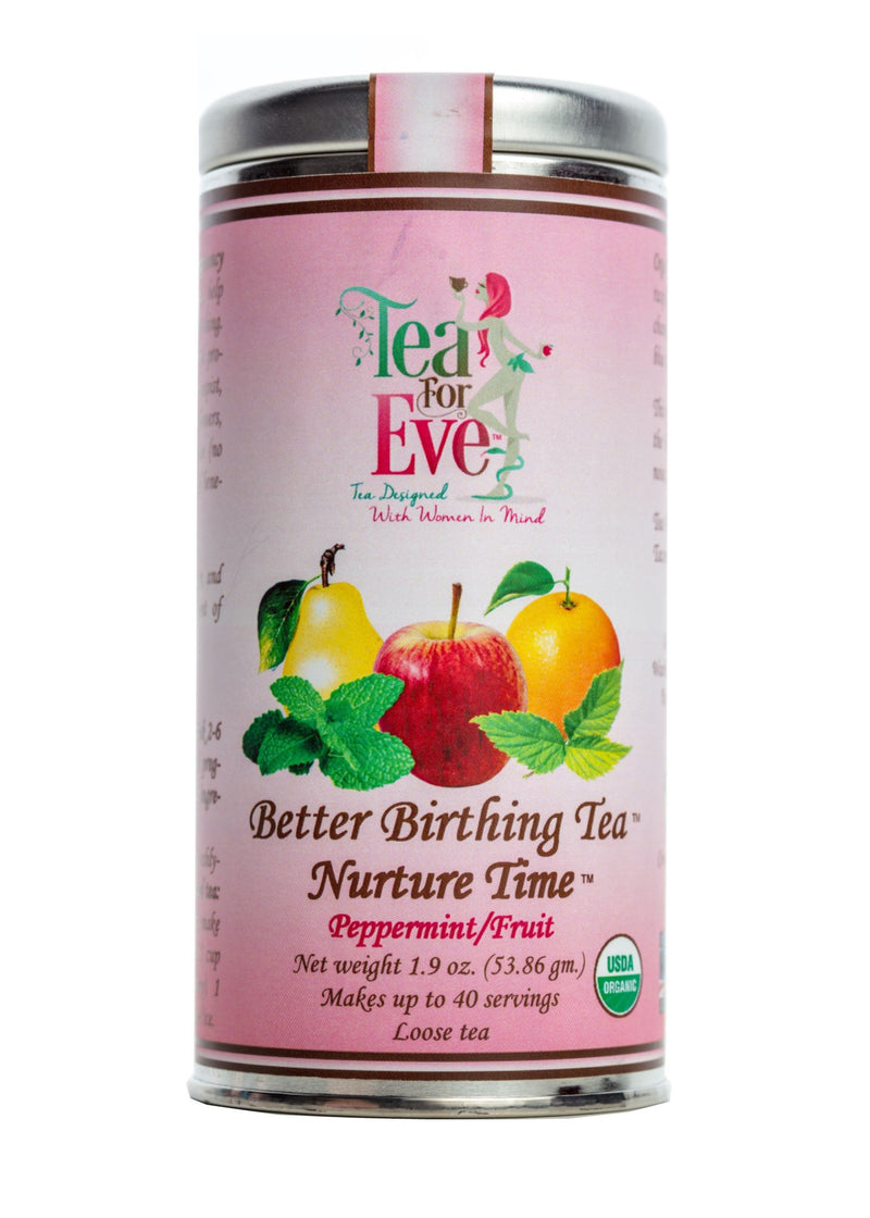 Better Birthing Tea-Nurture Time-Peppermint/Fruit