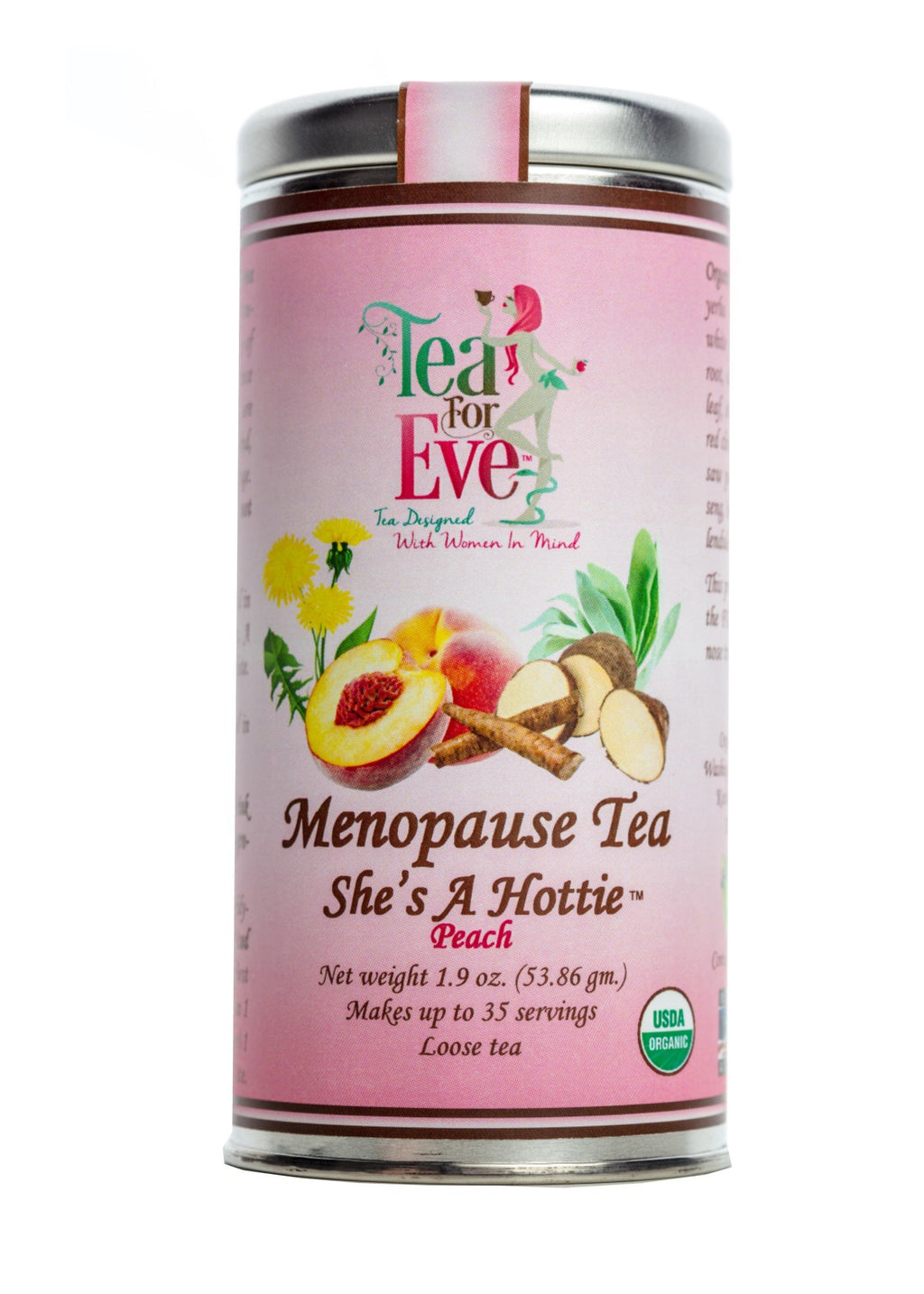 Menopause Tea-She's A Hottie-Peach