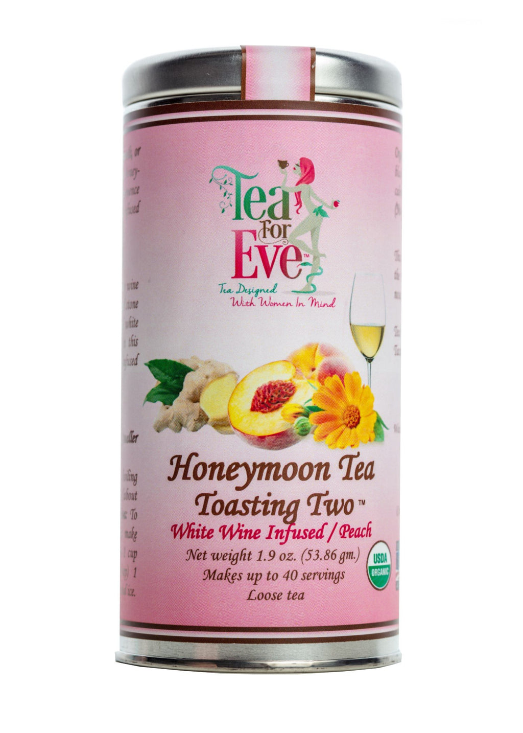 Honeymoon Tea-Toasting Two-White Wine Infused/Peach