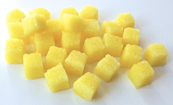 Lemon Flavored Sugar Cubes