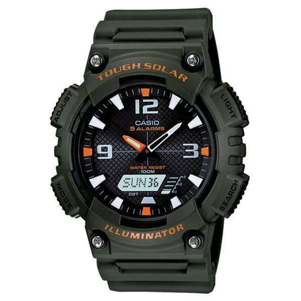 Casio AQ-S810W-3AV Solar Power Watch