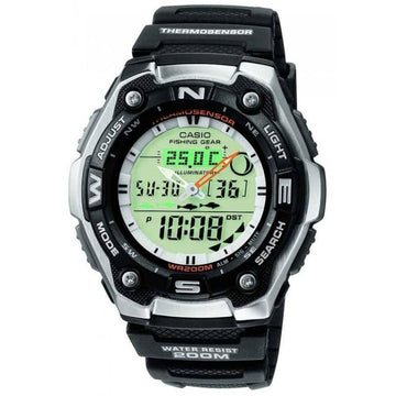 Casio AQW-101-1AV Fisherman's Watch