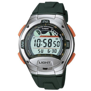 Casio W-753-3AV Tide and Moon Watch