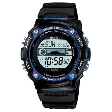 Casio WS-210H-1AV Solar Power Tide and Moon Watch
