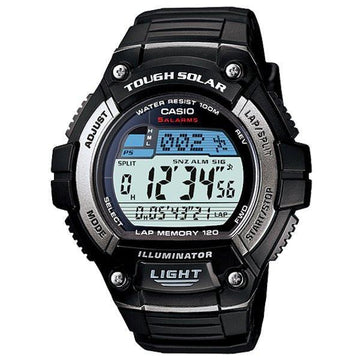 Casio W-S220-1AV 120 Lap Solar Powered Runners watch