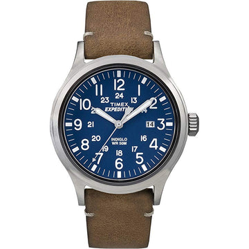 Timex Men's Blue Expedition Scout Watch