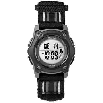Timex Time Machine Kid's Digital Black/Gray Watch - 7C264