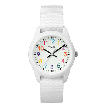 Timex Kids White Analog Watch - 7C103