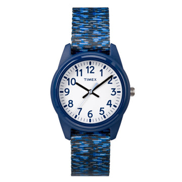 Timex Kids Analog Blue Resin Watch - 7C120