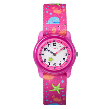 Timex Kids Analog Pink 'Under Sea' Watch TW7C13600