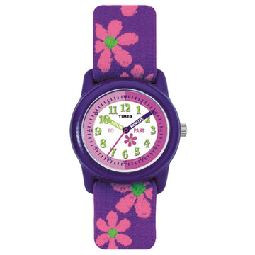 Timex Kids 89022 Pink flowers theme watch