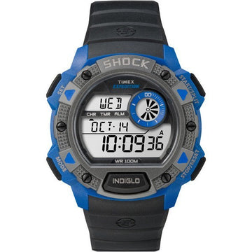 Timex Blue Expedition Base Shock 4B007