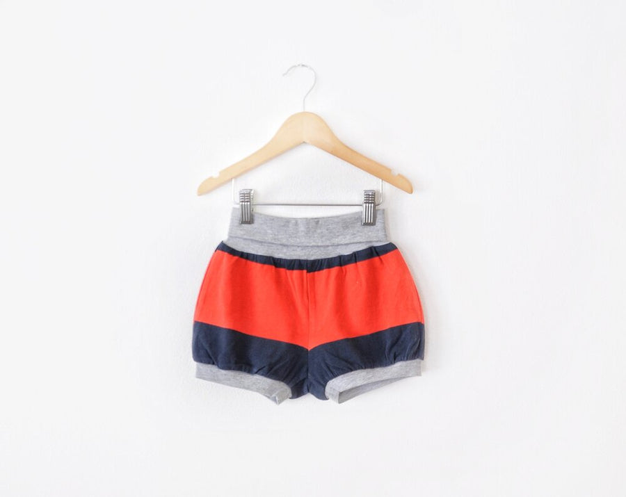 Red & Navy Shorts size 4/5