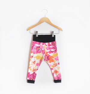 """Grow With Me Leggings"" Rose Floral size 12 Months"