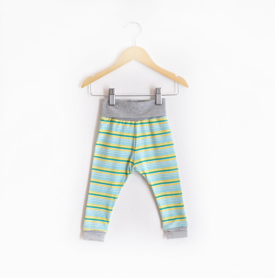 """Grow With Me"" Green Striped size 12 Months"