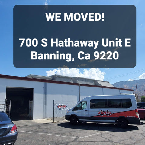 IMS Faclilty - We Moved!