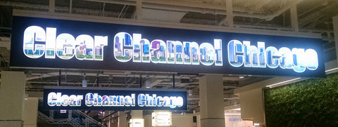 Retail Light Boxes using Channel Letters