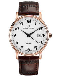 Claude Bernard 53009 37R BB Gold/Brown Watch