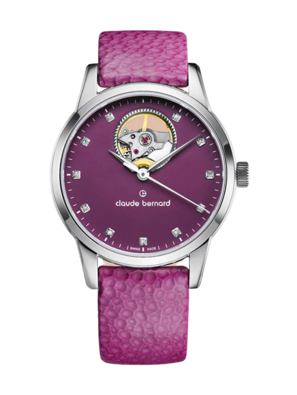 Claude Bernard 85018 3 ROPN1 Pink Ladies Automatic Watch