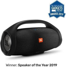 Load image into Gallery viewer, A JBL Boombox Bluetooth Party Speaker with Wireless in-Ear Headphones Combo