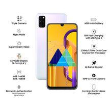 Load image into Gallery viewer, Genex Galaxy M30s Smartphone 6GB /128GB (Pearl White)
