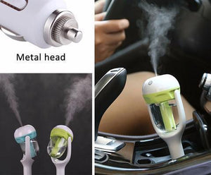 Car Air Humidifier with Aroma Oil