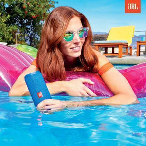 JBL Flip 4 16 W Portable Bluetooth Speaker  (Squad, Stereo Channel)
