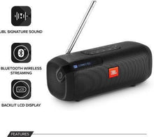 Load image into Gallery viewer, JBL Tuner Portable Bluetooth Speaker  (Black, Stereo Channel)