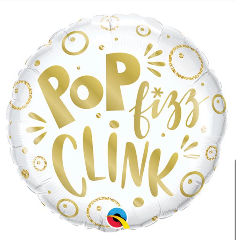 "18"" Pop Fizz Clink Balloon"
