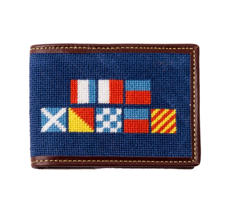 Needlepoint Wallet
