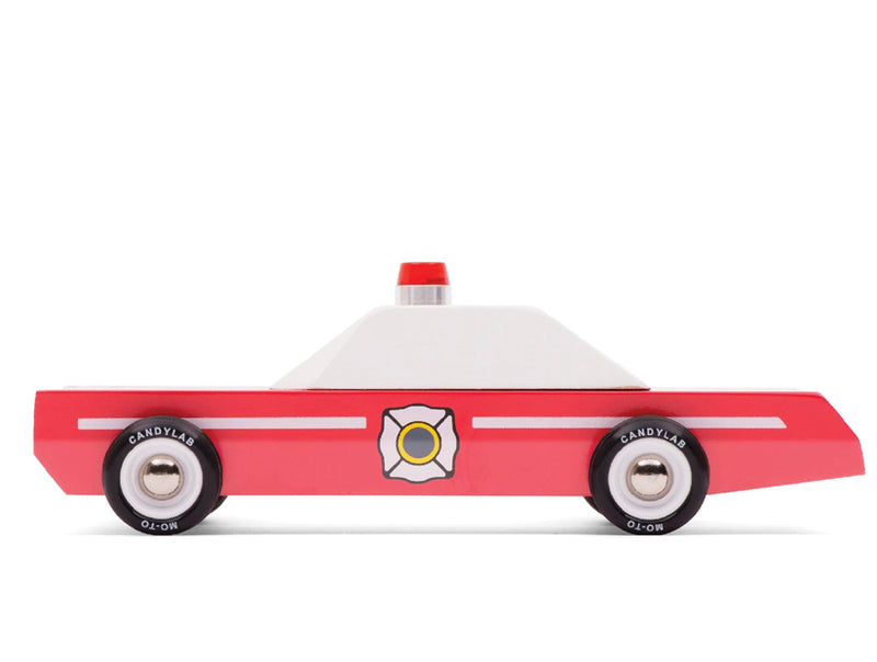 Candylab fire chief toy car