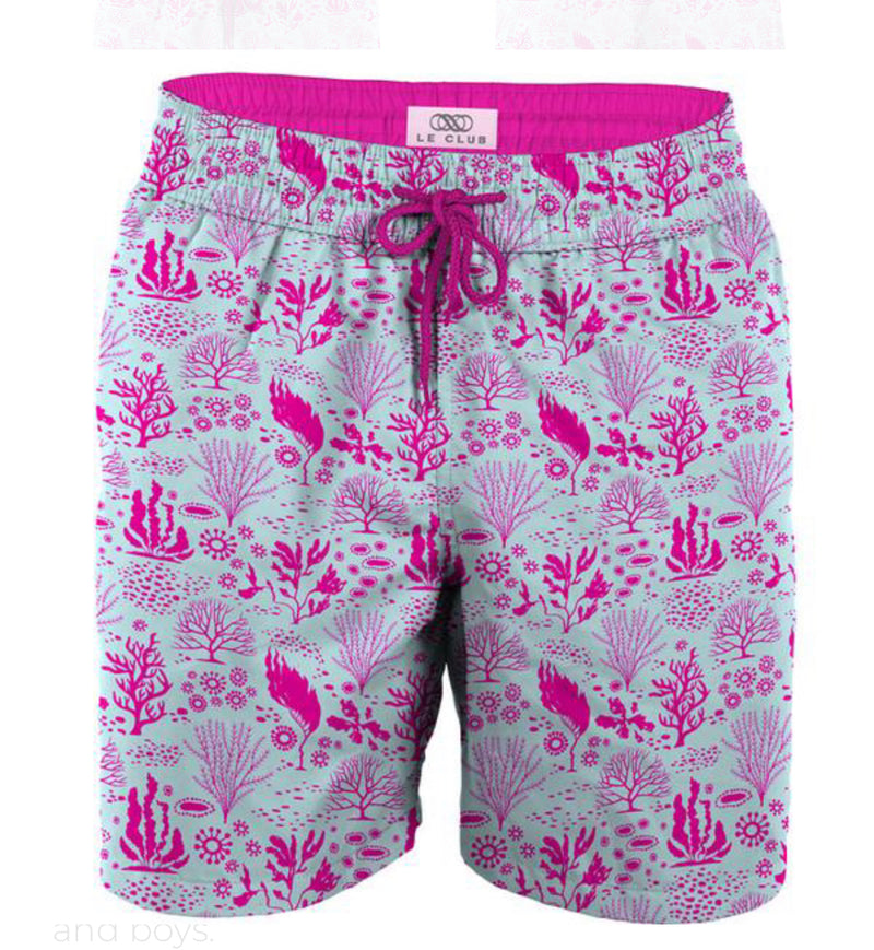 LeClub coral gables swim trunks