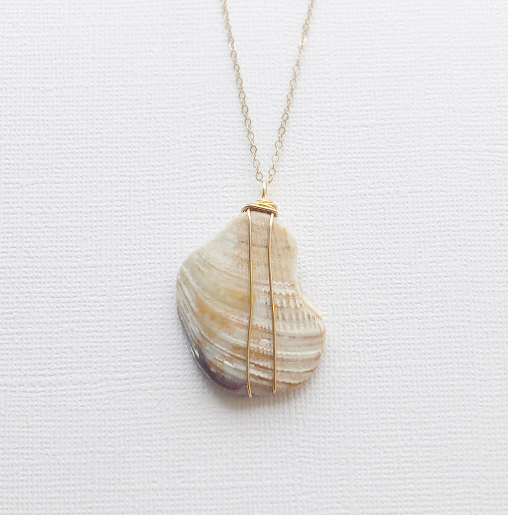 Matunuck Shell necklace